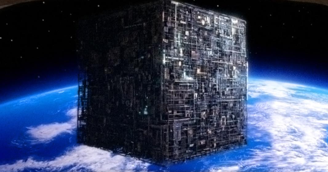 File:Borg cube ship over earth.jpg