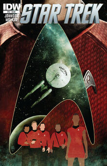 IDW TOS 13 cover