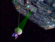 Borg cutting beam, activating