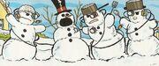 Borg snowmen