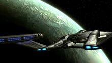 Enterprise orbits Coridan, 2151