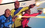 Klingon Enterprise officers