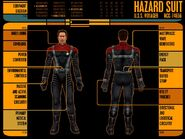Hazard suit