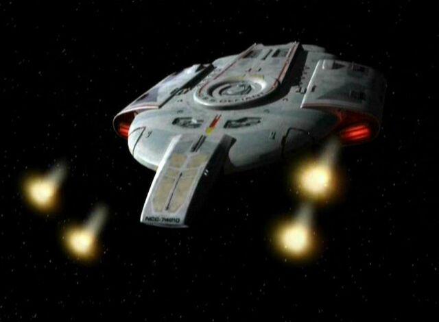 File:USS Defiant firing phaser cannons.jpg