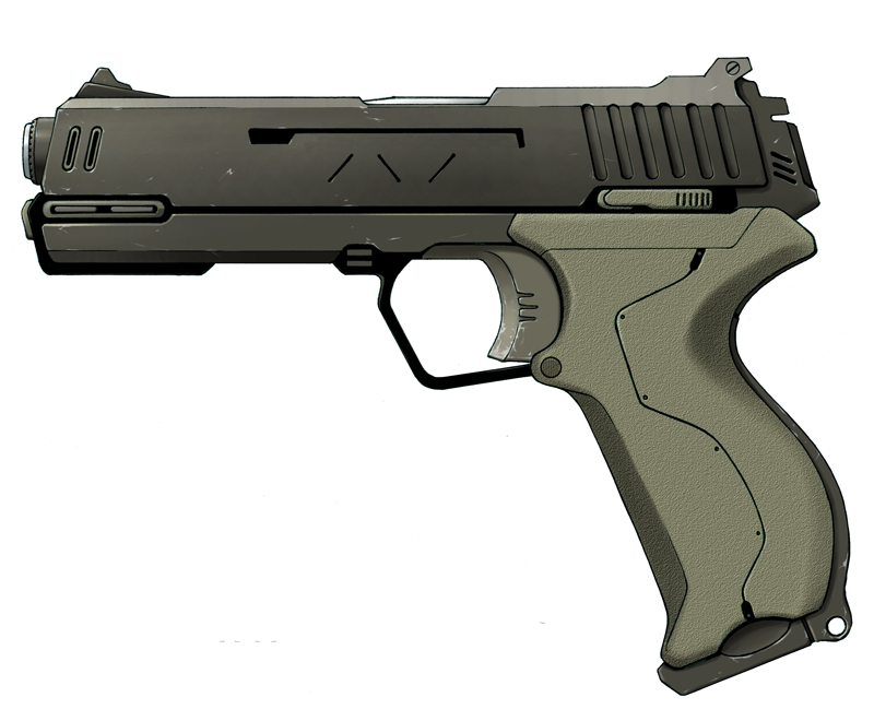 mc 28p blaster pistol star wars exodus visual. Black Bedroom Furniture Sets. Home Design Ideas