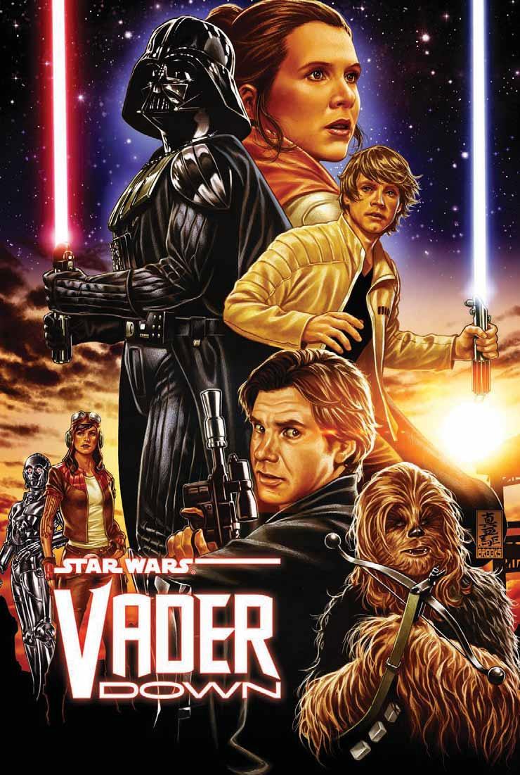 Image result for star wars vader down