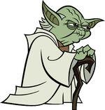 Yoda cartoon