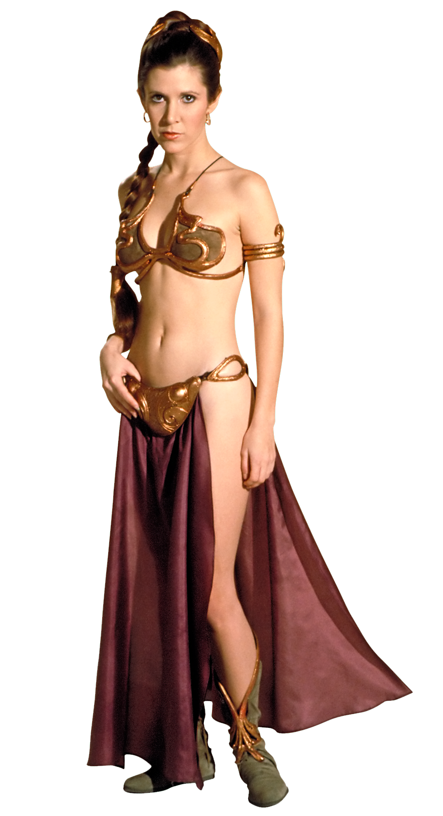 Forced to wear a ball gown - Leia S Slave Costume
