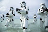 Stormtroopers are all wet