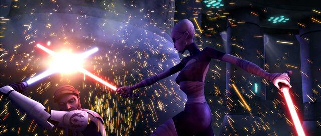 File:Obi-Wan vs Ventress Teth.jpg