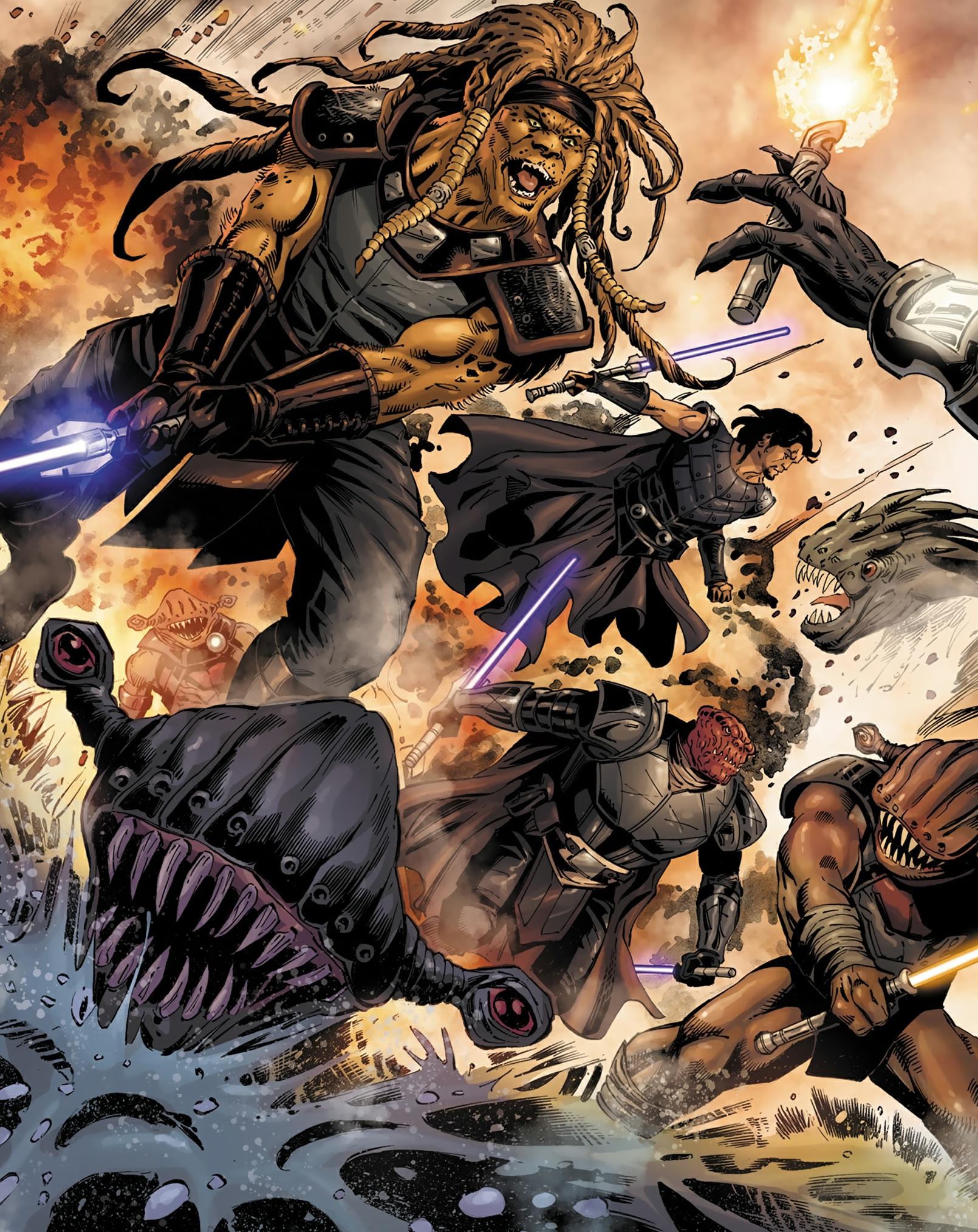 Karness Muur led to Darth Andeddu led to Darth Bane