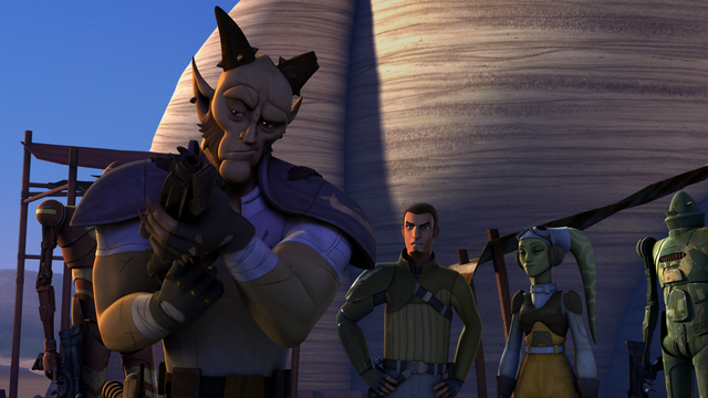 File:Vizago Inspects Blasters.png