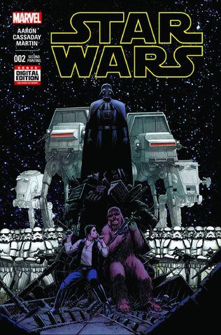 File:Star Wars Vol 2 2 2nd Printing Variant.jpg