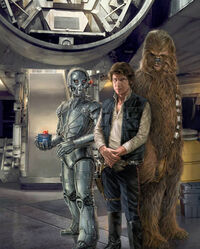 Solo BlueMax Bollux Chewie
