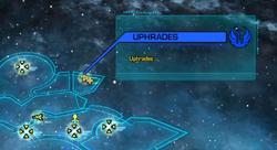 Uphrades system