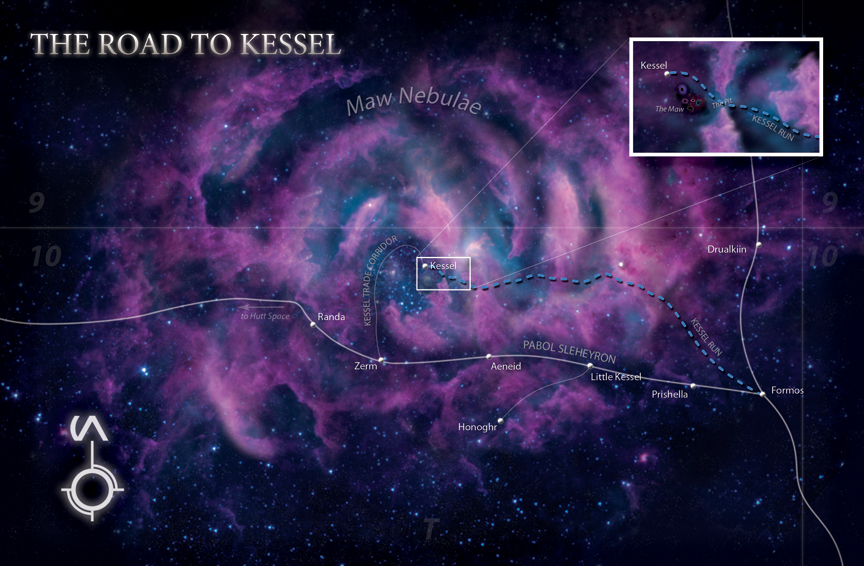 TIL when Han Solo said he did the Kessel Run in 12 parsecs he was not trying to describe how fast his ship was going. Instead he was bragging that he had done a shorter route of the Kessel Run. He did this by going closer to a black hole than most dared to go.