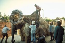 Creating a bantha