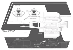 Phantom - VCX-series auxiliary starfighter - BluePrints - SW Card Trader