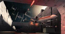 Expert Handling X-wing MG by David Nash