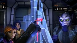 The Spire hologram