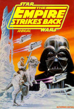 Image result for empire strikes back annual