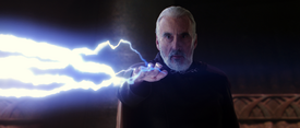 Dooku Force lightning