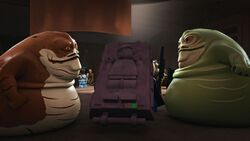 Graballa and Jabba Race