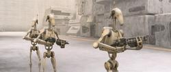 Battle droids-MIA