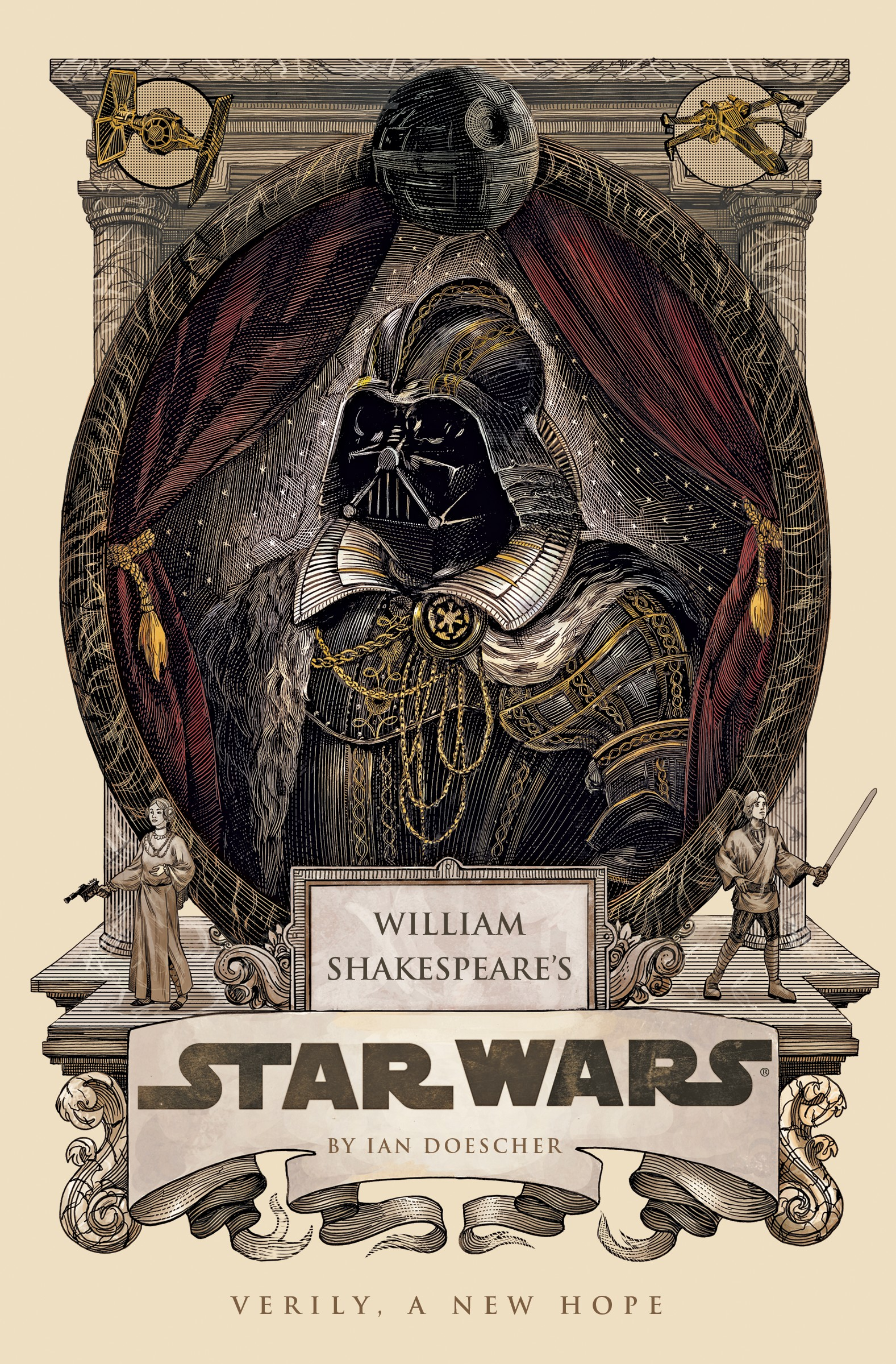 Image result for shakespeare starwars