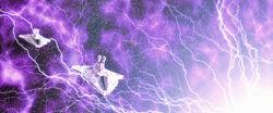 Triumphant ion blasted