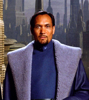 Bail Organa Coruscant background