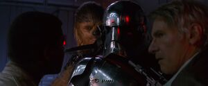 Phasma captured by main heroes