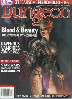 Dungeon Magazine 98 cover