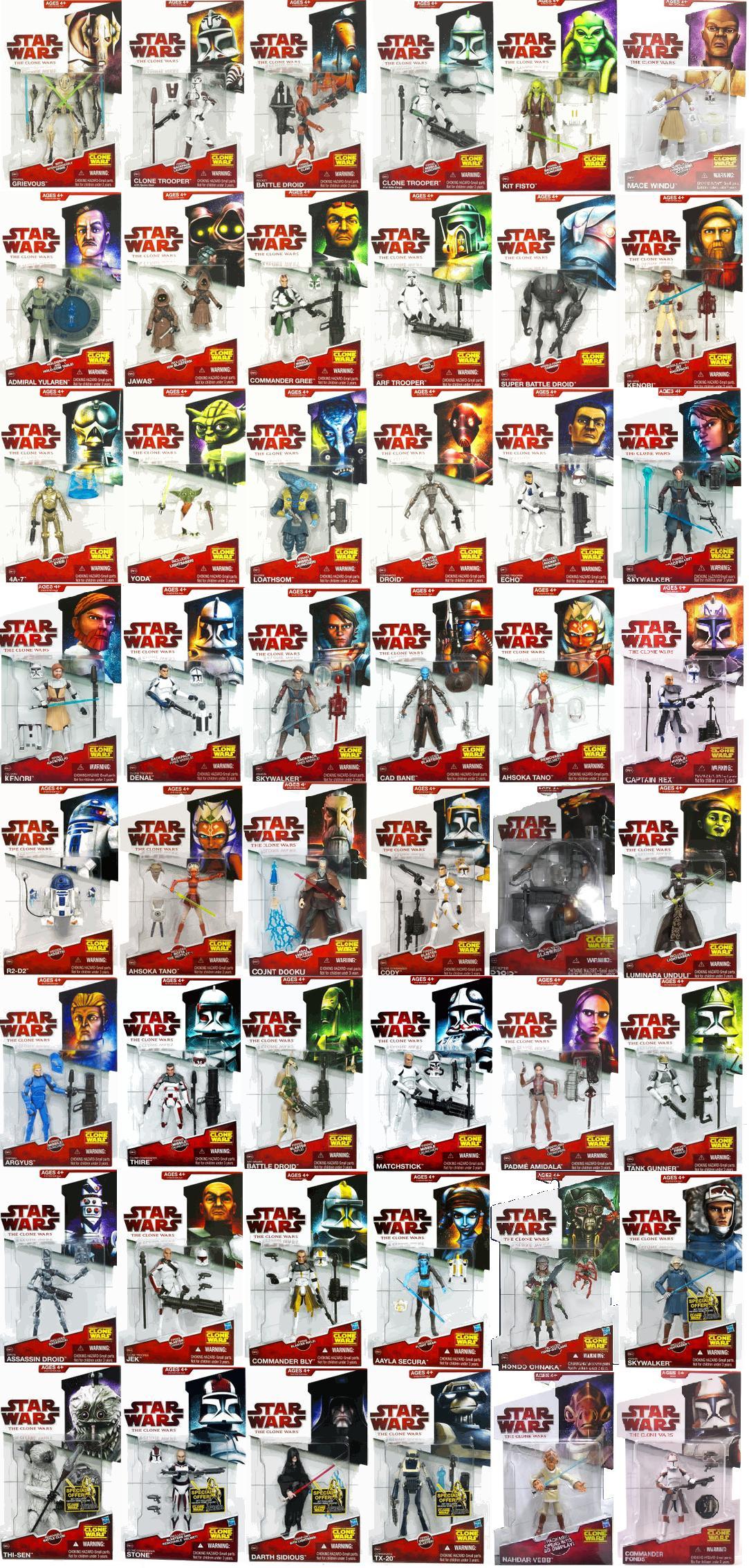 Star Wars: The Clone Wars (toy line) | Wookieepedia | Fandom powered ...