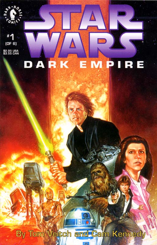 Star Wars comic book - Dark Empire