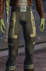 Huttese bantha hide leggings