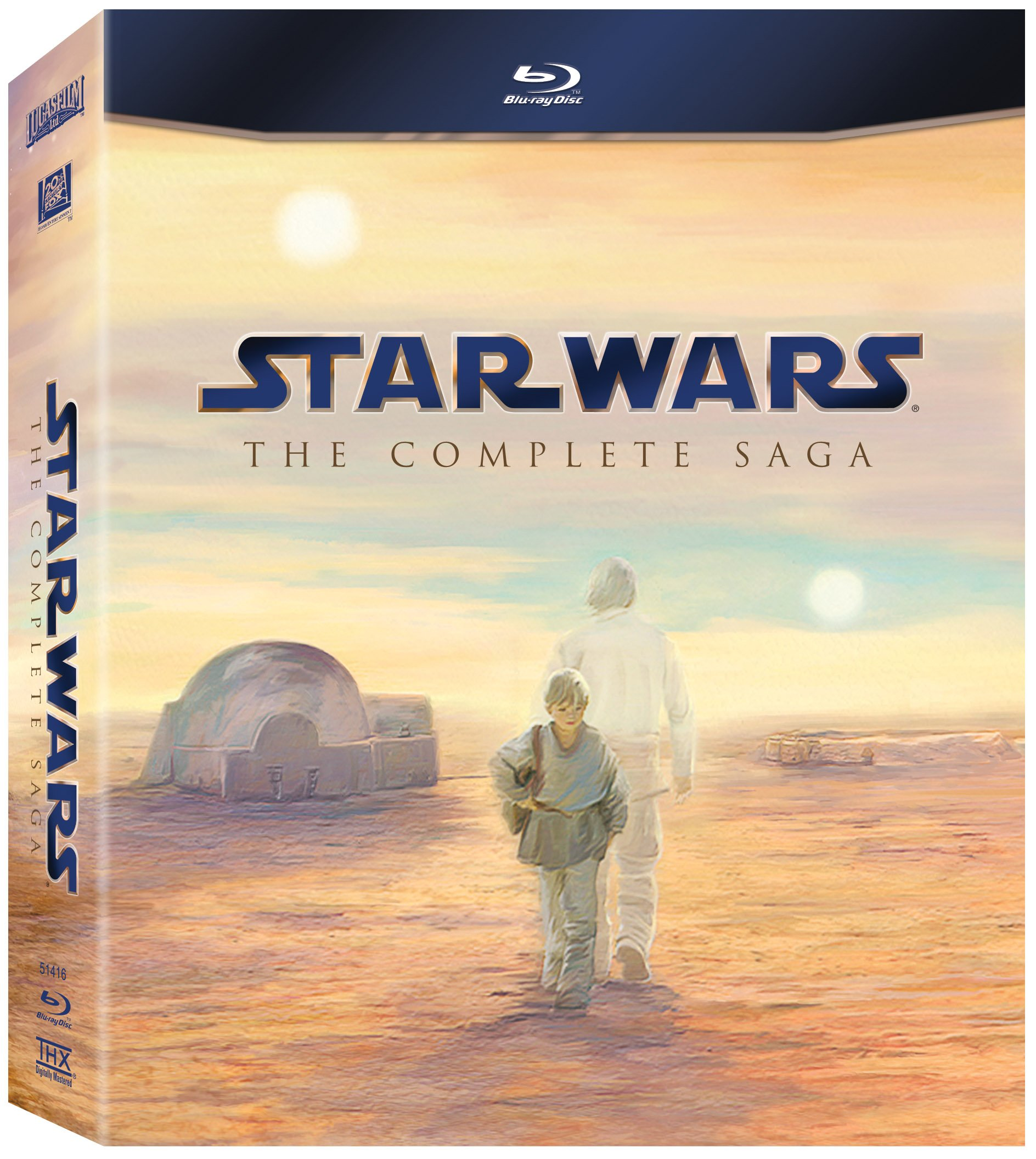 Star Wars: The Complete Saga Blu-Ray box