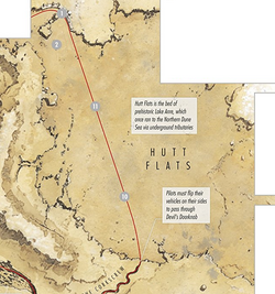 Hutt Flats map