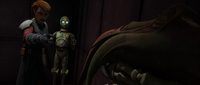 Background droid