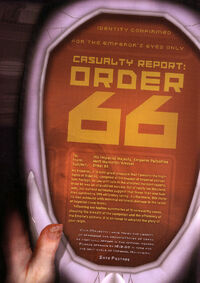 CasualityReport Order66