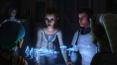 Leia and the Ghost crew