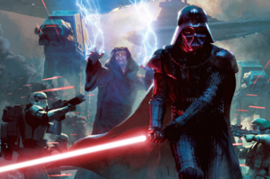 Sidious and Vader on Ryloth