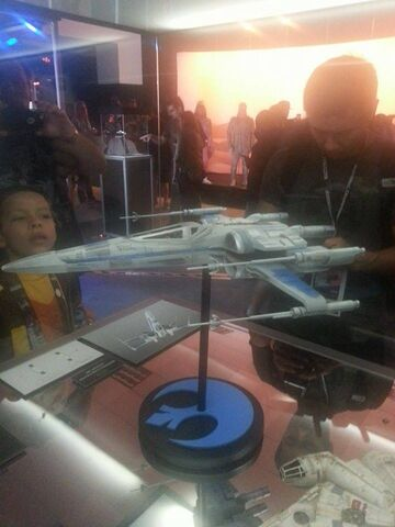 File:X-Wing The Force Awakens Exhibit.jpg