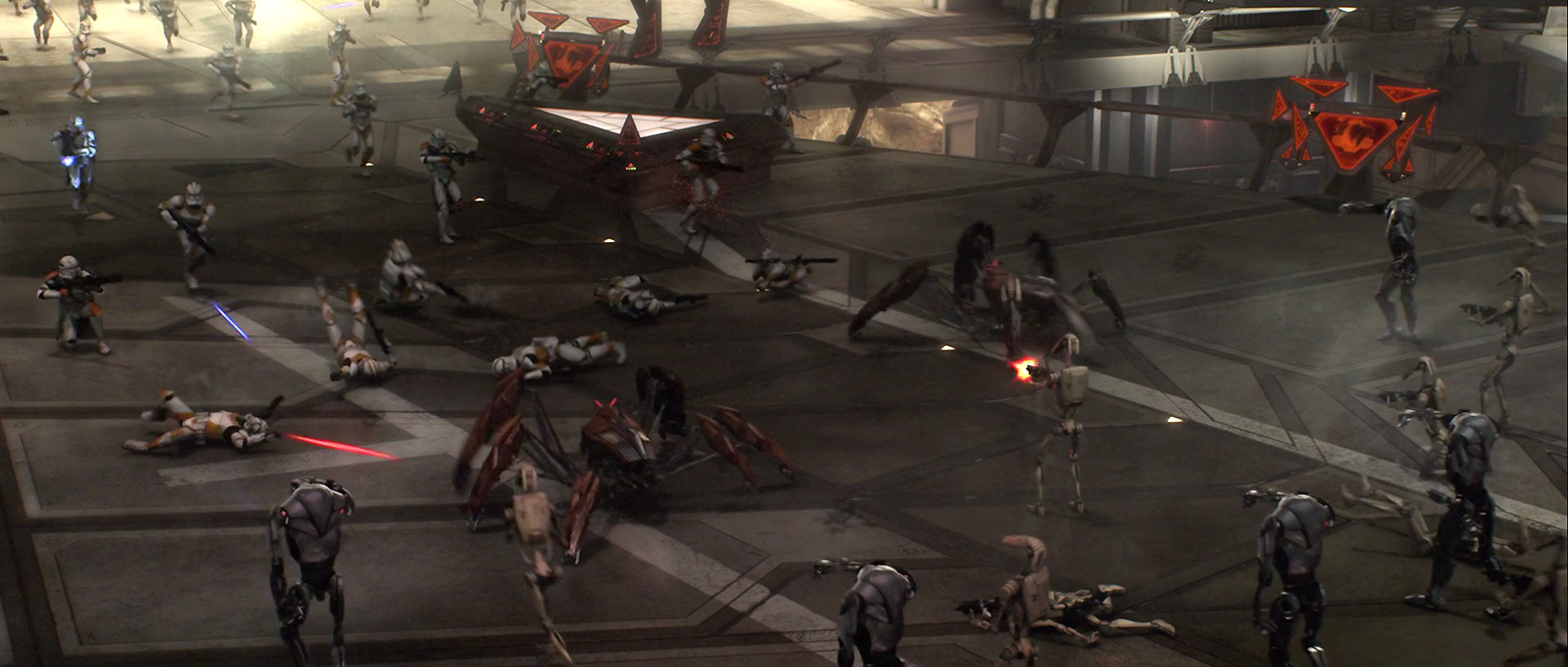 The Battle Of Utapau Star Wars Battles Wiki Fandom