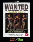 Sabine's wanted poster