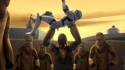 Wookies Versus Stormtrooper Trailer