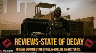 STATE OF DECAY DLC-Lifeline▐ Year One Survival Edition 1080p 60 Fps.☢(Na GTX 750 SC)