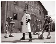 Dr. Steel Robot Band