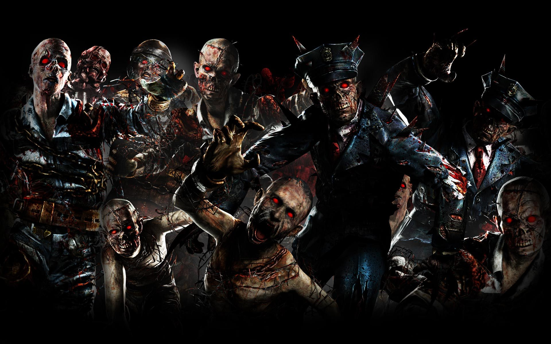 Call Of Duty Black Ops II Zombies Background