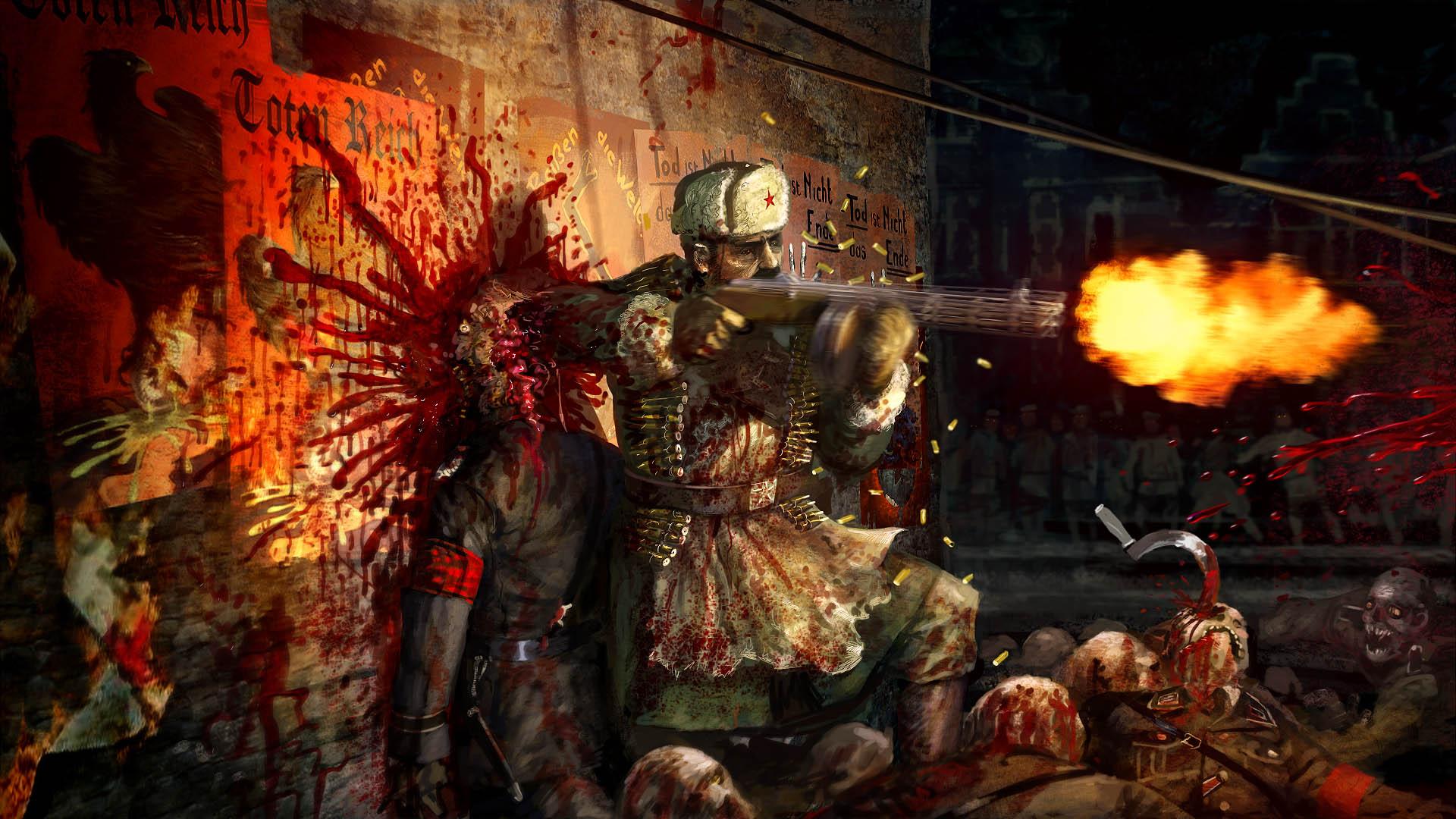 zombie army trilogy boris medvedev steam trading cards